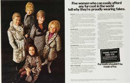 faux fur coats vintage
