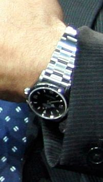 tom hanks rolex explorer watch