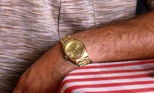celebrity gold watches tony soprano rolex