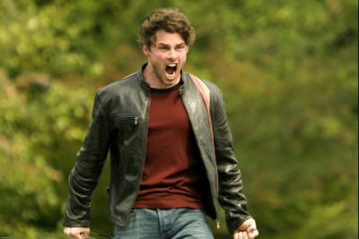 James Marsden Leather Jacket x men