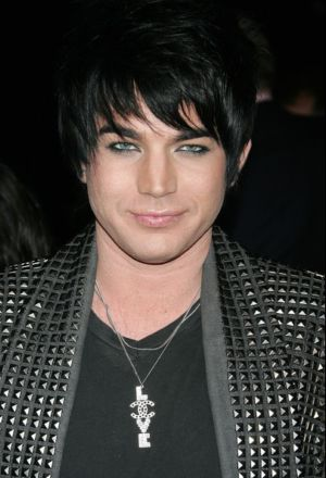 Adam Lambert love and peace necklace