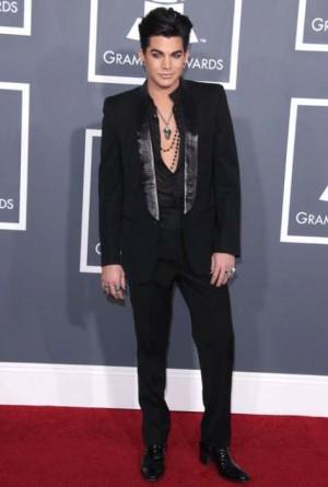 gay men in tuxedo suits adam lambert