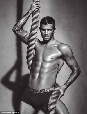 Emporio Armani Male Underwear Models David Beckham