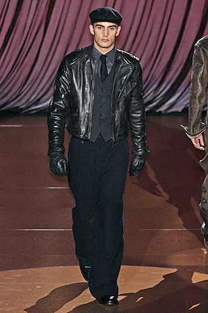 liquid leather jacket for men