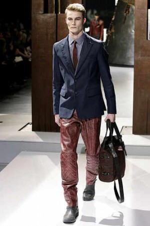 mens belstaff leather pants
