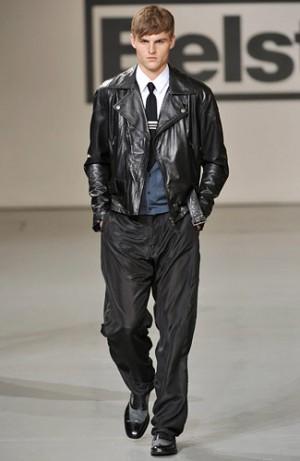 liquid leather jacket belstaff fall winter