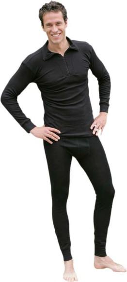 black underwear long johns