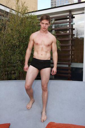 black underwear briefs for men