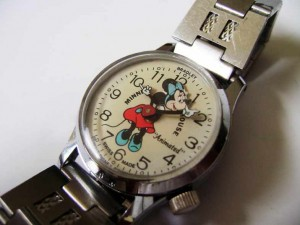 minnie mouse watch by elgin