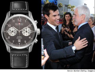 celebrities who wear bremont watch taylor lautner