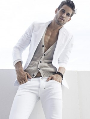 stylish white jeans for men