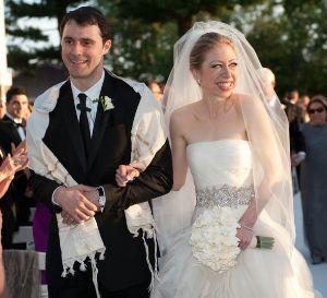 chelsea clinton wedding dress vera wang