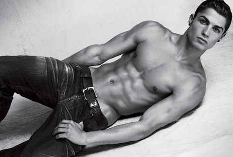 hot men in jeans cristiano ronaldo