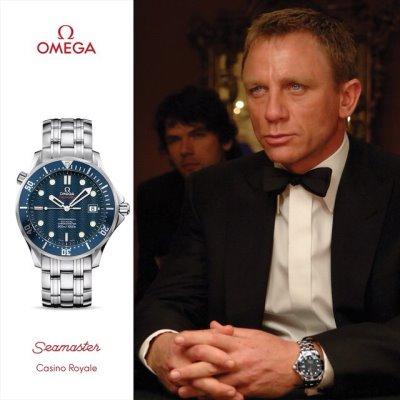 daniel craig omega watch in casino royale