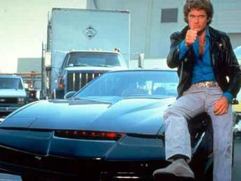 david hasselhoff leather jacket knight rider