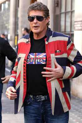 union jack david hasselhoff leather jacket