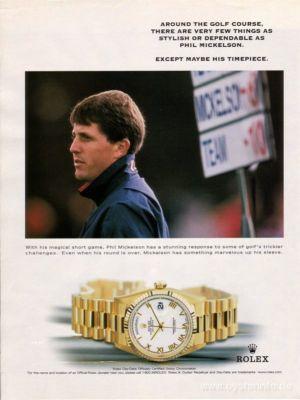 Vintage Rolex Watch phil mickelson day date
