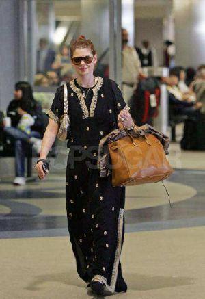 Celebrity Hermes Birkin Bags Debra Messing