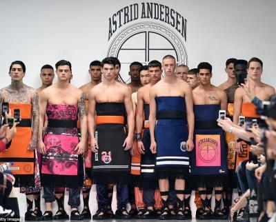 Men Who Wear Womens Dresses - Astrid Andersen