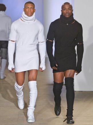 Men Who Wear Womens Dresses Designer Options - Hood by Air