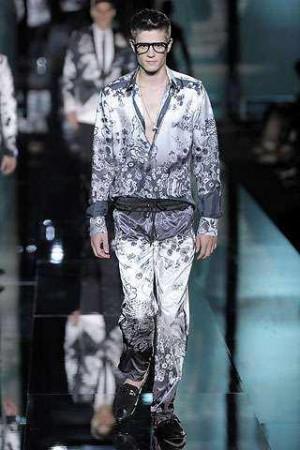 dolce gabbana pajamas for men