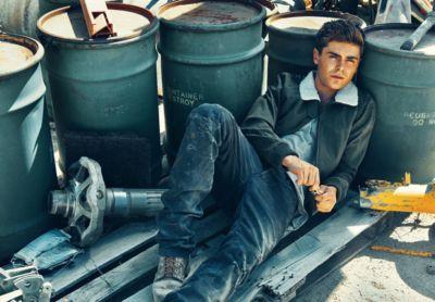zac efron jeans diesel