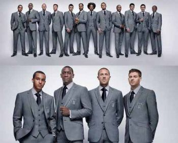 marks and spencer suit for men team england