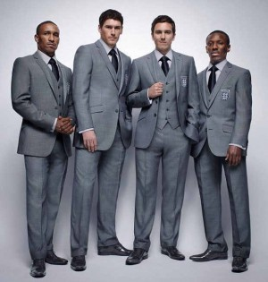 marks and spencer suit for men english football team