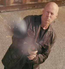 bruce willis leather jacket - frank moses - banana republic