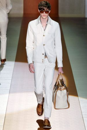 white pants for men by gucci