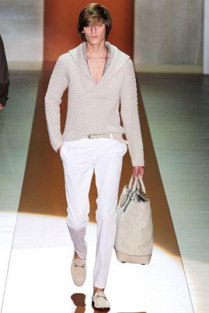gucci white pants for men