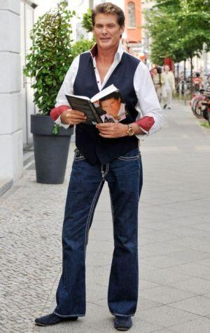 mens bootcut jeans david hasellhoff
