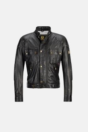 expendables Jason Statham Leather Jacket - belstaff on lee christmas