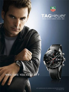 jeff gordon tag heuer carrera watch