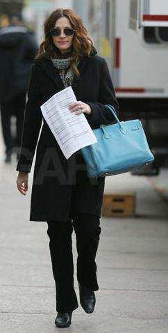 Celebrity Hermes Birkin Bags Julia Roberts