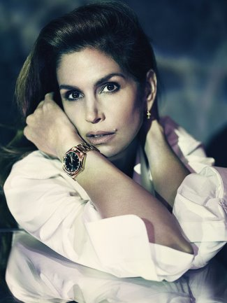 ladies omega watch 2017 cindy crawford brand ambassador