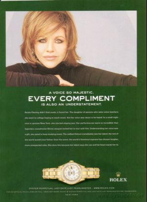 Rolex Lady Datejust Celebrity Ambassadors Renee Fleming