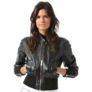 members only liquid leather jacket