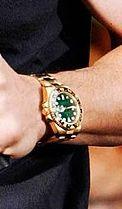 mens rolex gold watch celebrities