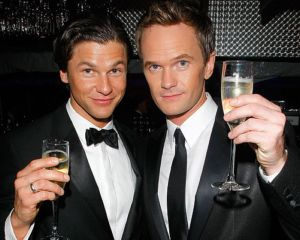 gay men in tuxedo suits neil patrick harris david burtka