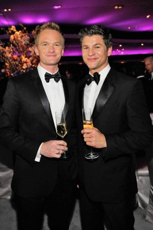 gay men in tuxedo suits