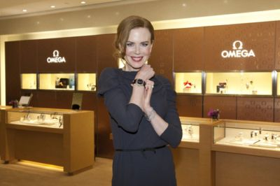 ladies omega watch nicole kidman brand ambassador