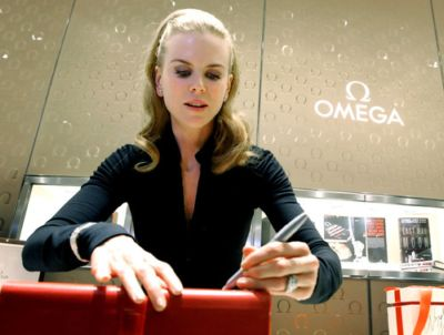 nicole kidman omega watch brand ambassador