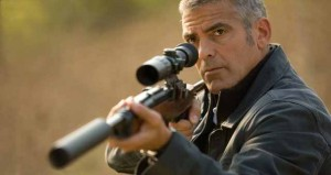 george clooney omega speedmaster - the american