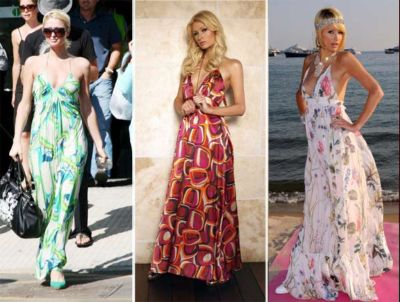 paris hilton fashion style