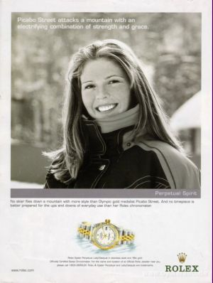 Celebrities Wearing Rolex Lady Datejust Watches Picabo Street