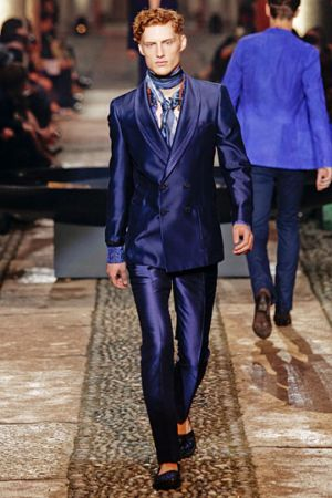 designer blue suits for men