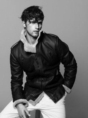 zara leather jackets for men