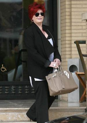 Celebrity Hermes Birkin Bags Sharon Osbourne