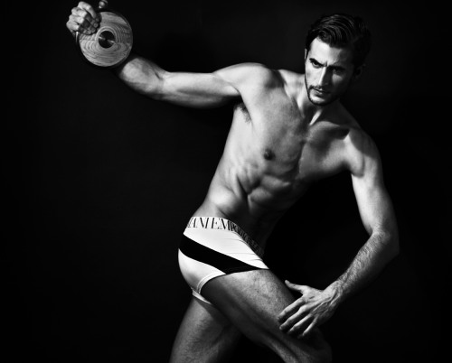 Emporio Armani Male Underwear Models jason mickle